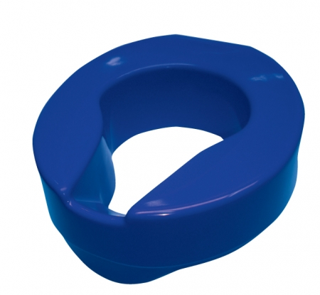 Armley Raised Toilet Seat 100mm: Blue