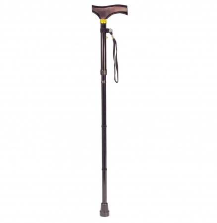 Walking Stick With Wooden Handle