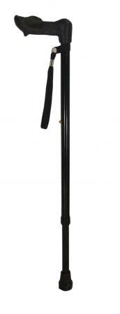 Ergonomic 2 Section Walking Stick Right Hand
