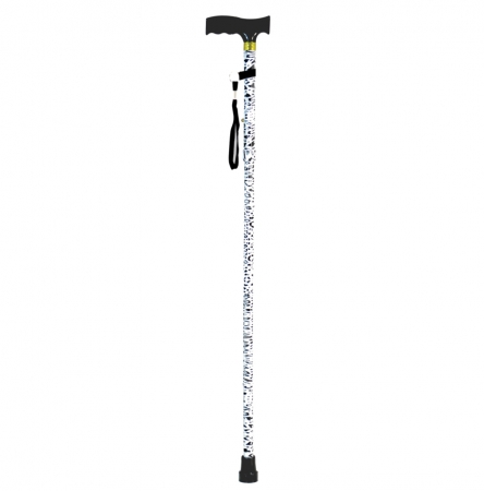 Folding Walking Stick Animal Print