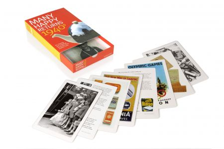 Reminiscence Cards - Many Happy Returns 1940s