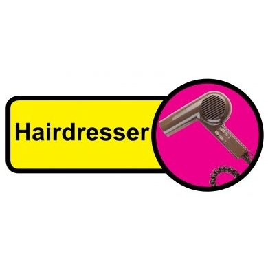 Hairdresser sign - 480mm x 210mm