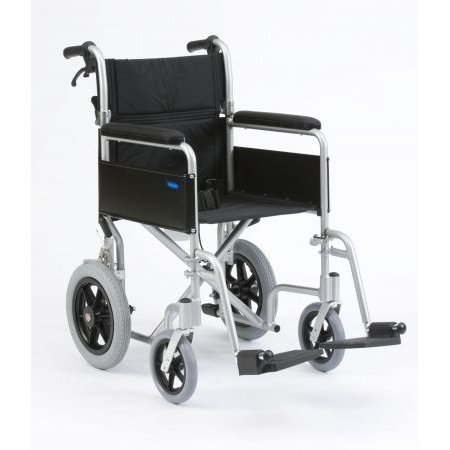 "Enigma Lightweight Aluminium Transit Wheelchair with 18"" seat"
