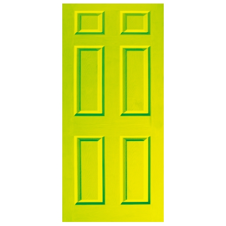 Door Decal - Dementia Friendly - Lime Green