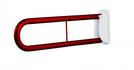 Double Arm Drop Down Support Bar - Red