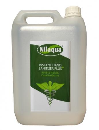Nilaqua Sanitiser Plus Refill - 5 litre