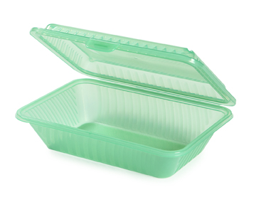 6 Single compartment 'snack box' containers