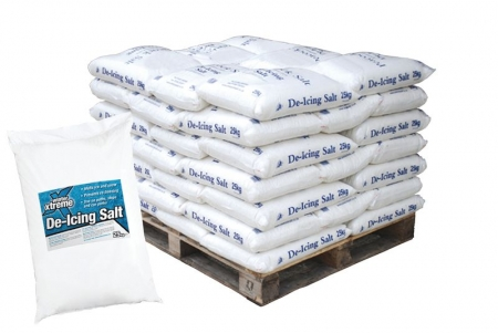 De-icing Salt: Pallet of 42 x 25kg Bags