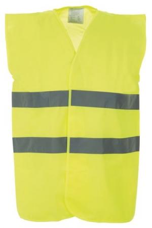 High Vis 2 Band Waistcoat (Yellow): Large