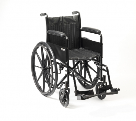 S1 Budget Steel Wheelchair Self Propel With Mag Wheels