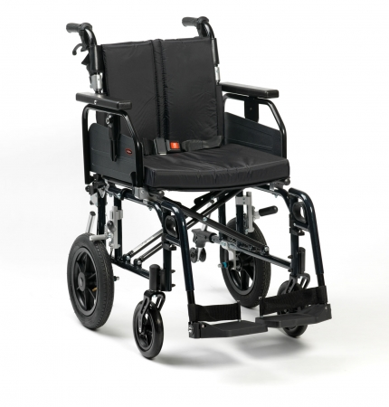 "18"" SD2 Wheelchair Transit (Black)"