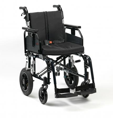 "18"" SD2 Wheelchair Transit (Black)"