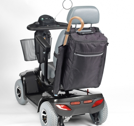 Mobility Bag with Crutch / Walking Stick Holders