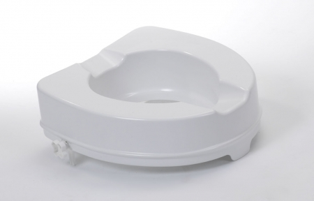 Raised Toilet Seat Without Lid - 4""