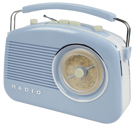 Konig Retro Design Radio - Blue