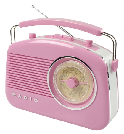 Konig Retro Design Radio - Pink