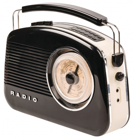 Konig Retro Design DAB+ Radio – Available in different colours