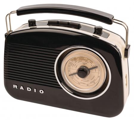 Konig Retro Design DAB+ Radio - Black