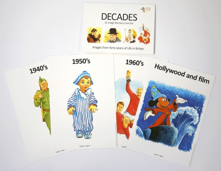 Decades Memory Card Set