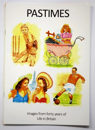 Pastimes Activity Book