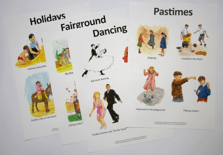 Pastimes Poster Set