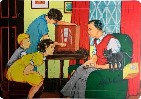 Dementia Jigsaw - WW II Family