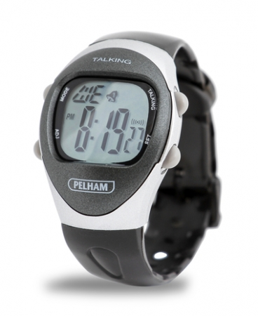 Talking 4 Alarm LCD Watch - Large