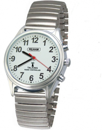 Talking Radio Controlled Watch with Expanding Strap: Small