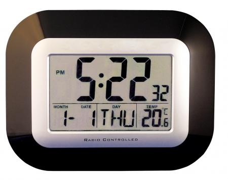 Digital Calendar Wall or Table Clock