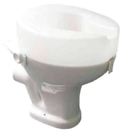 Ashby Raised Toilet Seat - 150mm 6""