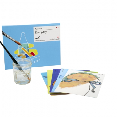 Aquapaint - Scenes from Daily Life: Reusable painting book