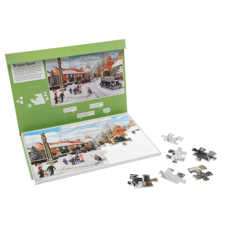 Winter Snow - Dementia Friendly 35 Piece Jigsaw Puzzle