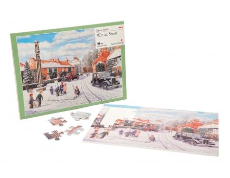 Winter Snow - 35 Piece Jigsaw Puzzle