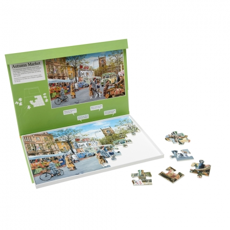 Autumn Market - Dementia Friendly 35 Piece Jigsaw Puzzle