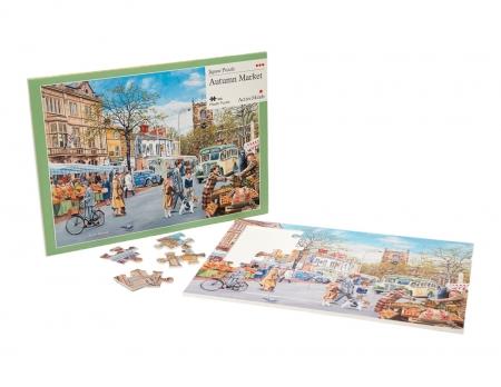 Autumn Market - 35 Piece Jigsaw Puzzle