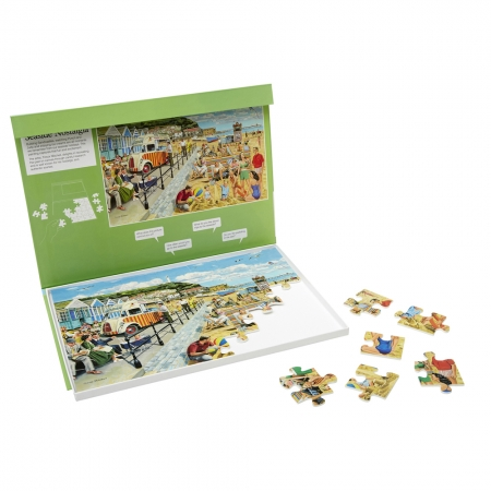 Seaside Nostalgia - Dementia Friendly 35 Piece Jigsaw Puzzle