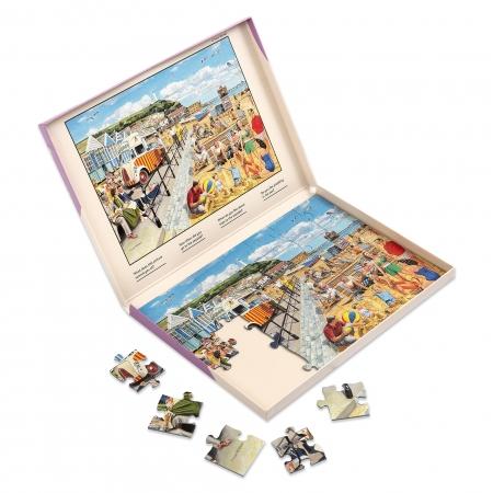 Seaside Nostalgia - Dementia Friendly 35 Piece Jigsaw Puzzle