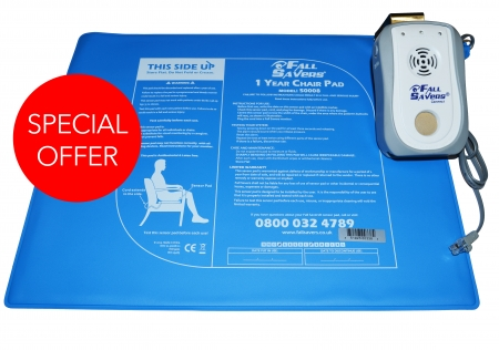 Fallsavers Chair Pad and Connect Monitor - PACKAGE DEAL