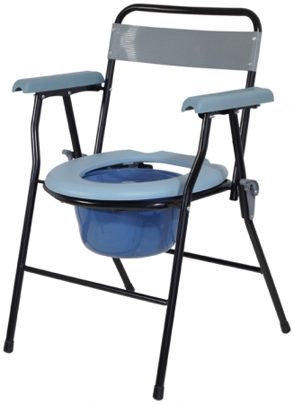 Lightweight Folding Commode Chair