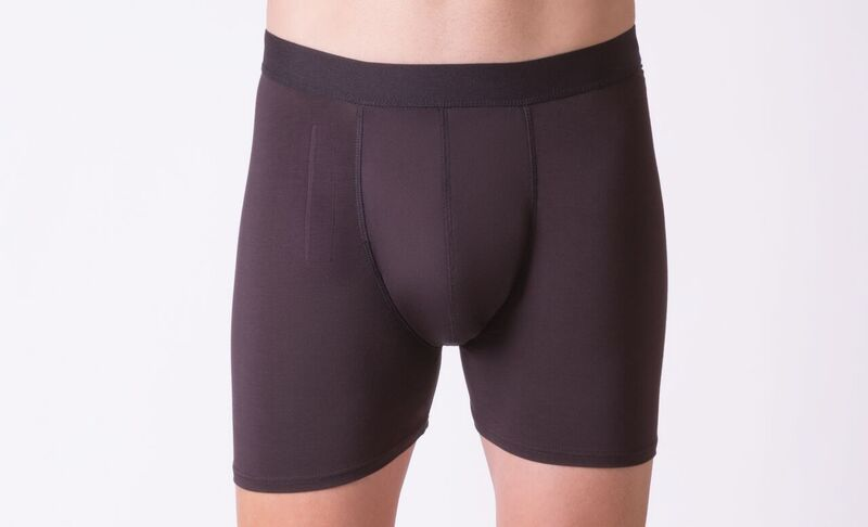 Moderate absorbency briefs (with fly), black. Different sizes available
