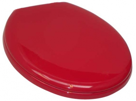 Standard Plus Toilet Seat - Red, Blue or Graphite