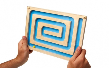 Spiral Maze Puzzle For People with Dementia