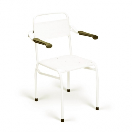 Shower Chair with Textile Seat - Height 490mm - Li2139.100.102