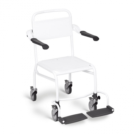 Shower Chair with Textile Seat - Mobile, Height 540mm - Li2141.000.102