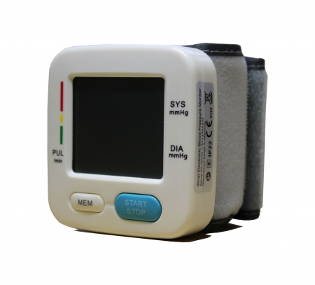 Wrist Cuff Blood Pressure Monitor