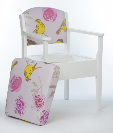 Luxury Commode Chair - Various Colours Available