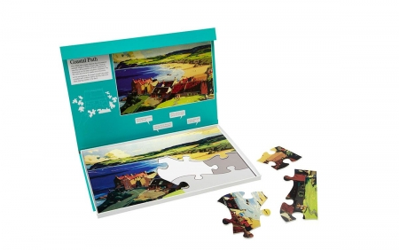 Coastal Path - Dementia Friendly 13 Piece Jigsaw Puzzle
