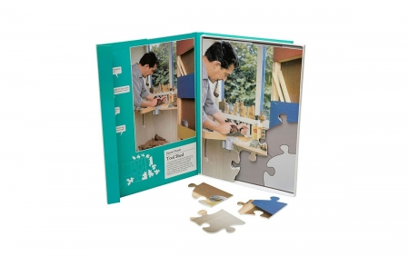 Tool Shed - Dementia Friendly 13 Piece Jigsaw Puzzle