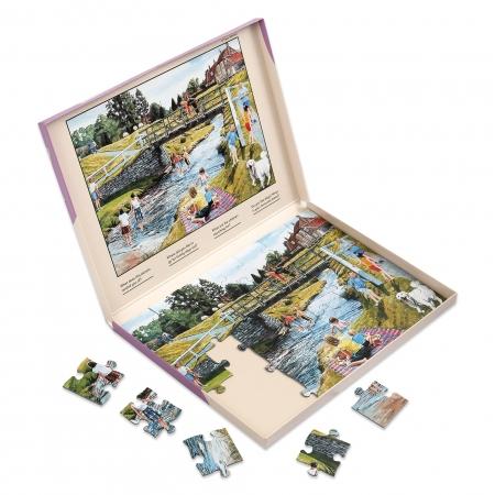 Spring Picnic - Dementia Friendly 35 Piece Jigsaw Puzzle