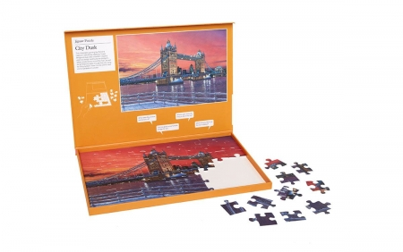 City Dusk - Dementia Friendly 63 Piece Jigsaw Puzzle